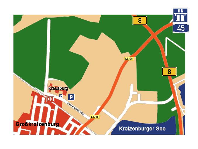 anfahrtswege